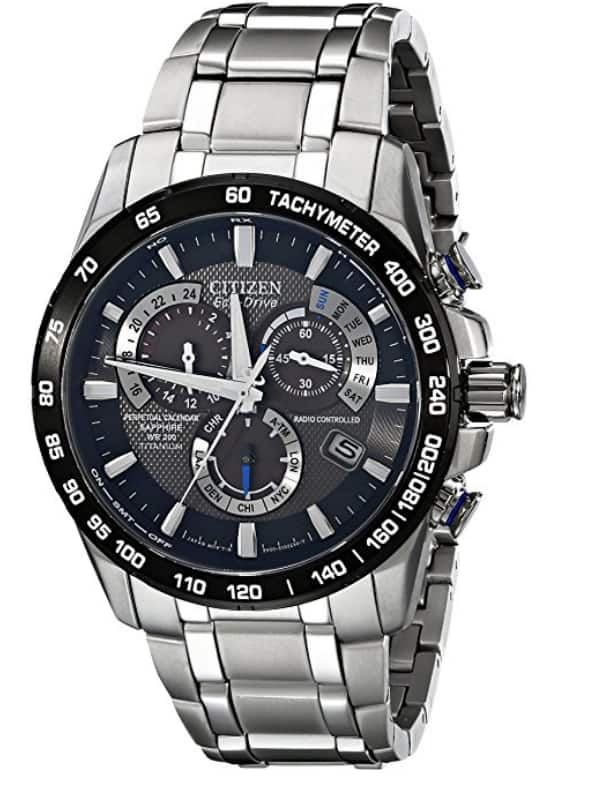 Citizen Eco-Drive Men's AT4010-50E Titanium Perpetual Chrono A-T Watch $262.56