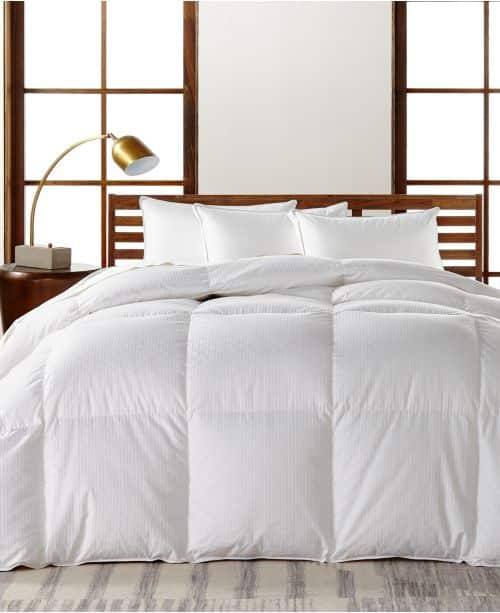 European White Goose Down Heavyweight Twin Comforter, Hypoallergenic UltraClean Down, Created for Macy's $293.99