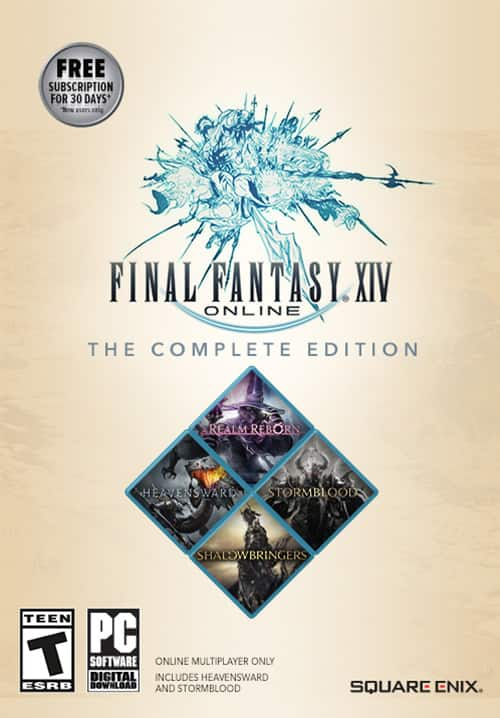 STAY HOME AND PLAY - FINAL FANTASY XIV SALE 40% off FINAL FANTASY® XIV ONLINE COMPLETE EDITION $35.99