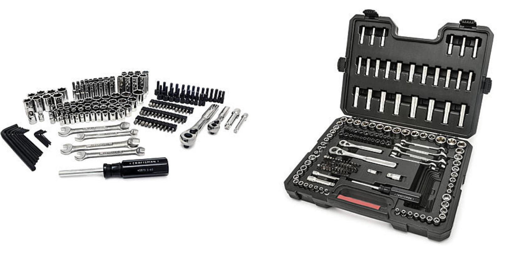 Sears Craftsman 165pc Mechanics Tool Set - $37.86 + tax, free shipping