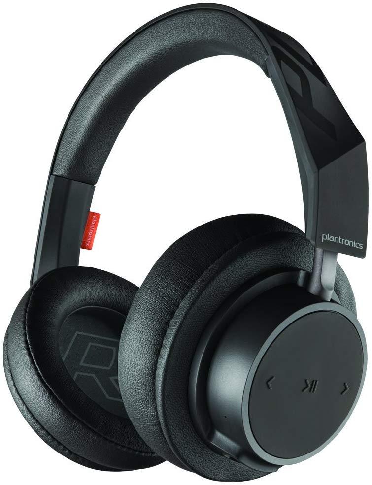Plantronics BackBeat GO 600 Noise-Isolating Headphones, Over-The-Ear Bluetooth Headphones - $23 AC