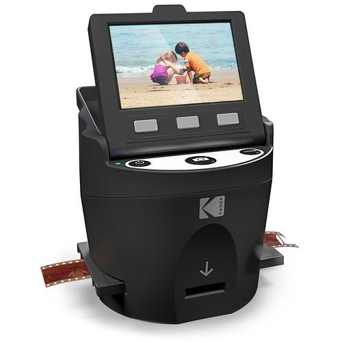 30% OFF - KODAK SCANZA Digital Film and Slide Scanner – Converts 35mm, 126, 110, Super 8, 8mm Film Negatives and Slides to JPEG @ Amazon $112