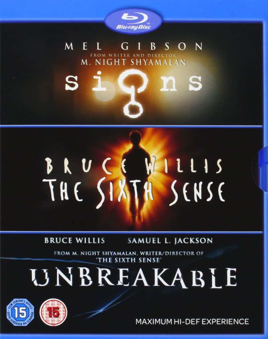 M Night Shyamalan Collection: Signs/The Sixth Sense/Unbreakable (Blu-ray)