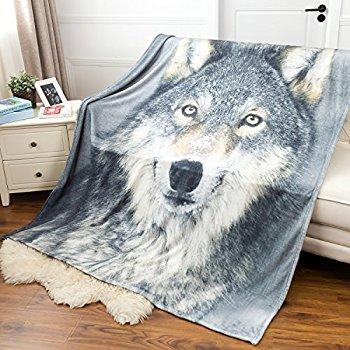 Printed Flannel Throw Blanket 50x60/60x80 $8.99-$9.99 AC+FS