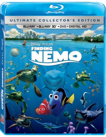 Finding Nemo Ultimate Collector's Edition (Blu-ray + Blu-ray 3D + Bonus + DVD + Digital HD) - 1650 DMR Points