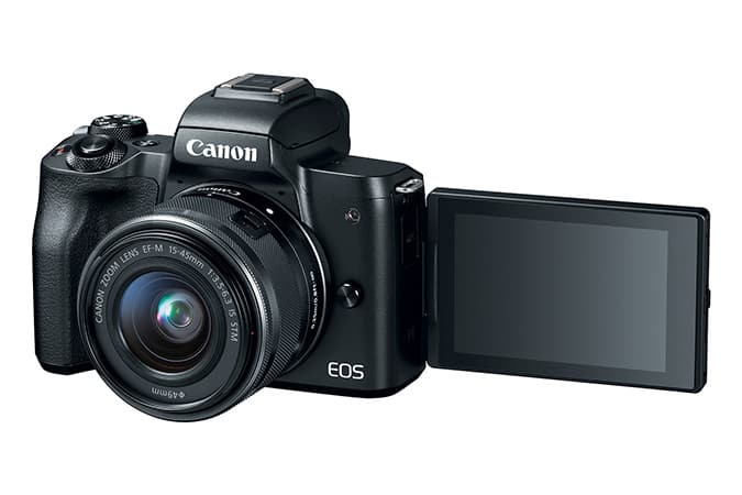 Canon EOS M50 + 15-56 f3.5-6.3 IS - Refurb + 1 year manufacture warranty $399.99