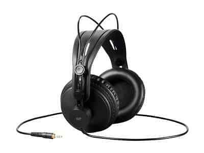 Monoprice Modern Retro Over Ear Headphones - Black W/ 50mm Drivers $22