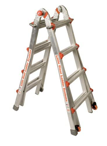 Little Giant 300-Pound Duty Rating Ladder System 17-Foot $139.99 air @ costco B&M