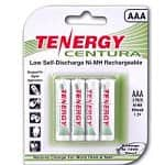 Tenergy Centura AAA Low Self-Discharge (LSD) 800MAH NiMH Rechargeable Batteries / 12pk. $12.18 or AA Low Self-Discharge (LSD) 2000MAH NiMH / 12pk. $16.56 ac / fs @ s4t