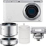 Samsung NX Mini EV-NXF1ZZB4HUS Wireless Smart 20.5MP Mirrorless Digital Camera with 2.96-Inch LCD (White) $379 fs @ amazon / $379.95 @ adorama via amazon
