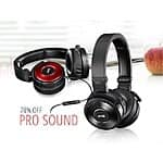 AKG K619 High-Performance DJ Headphones With In-Line Microphone / black, red or blue $29 fs @ nf