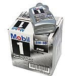 Mobil 1 94001 5W-30 Synthetic Motor Oil - 1 Quart (Pack of 6) $27.99 sss eligible @ amazon