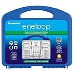 """Panasonic K-KJ17MCC82A eneloop Power Pack, NEW 2100 Cycle, 8AA, 2AAA, 2 """"C"""" Spacers, 2 """"D"""" Spacers, """"Advanced"""" Individual battery charger $30.99 sss eligible @ amazon"""