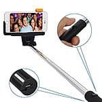 Selfie Stick, Liger Wireless Bluetooth Extendable Selfie Stick with Remote Shutter for iphone 6, 6 plus, iphone 5 5s 5c, Samsung Galaxy ... $11.95 ac / sss eligible @ amazon
