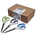 Scotch 8 Inch Precision Ultra Edge Scissors, 3-Pack (1458-3AMZ) $9.95 sss eligible @ amazon / LDs!