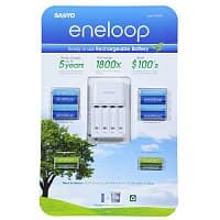 Costco Wholesale Deal: Sanyo Eneloop Rechargable Batteries Set: 8 AA, 4 AAA, and 4-Position Charger $19.99 ac @ costco B&M!