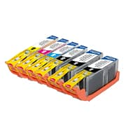 Meritline Deal: 1 Set (6 Cartridges) Canon PGI 250XL + CLI 251XL Compatible High Yield Inkjet Ca (125-448-001) $13.95 ac / fs @ m