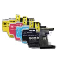 Meritline Deal: 4 Sets (16 Cartridges) Brother LC75 (LC75BK, LC75C, LC75M, LC75Y) Compatible Hig (137-143-004) $12.95 ac / fs @ m