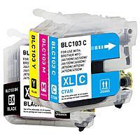 Meritline Deal: 4 Sets (16 Cartridges) Merax Brother LC75 BK/C/M/Y Compatible Inkjet Cartridges $11.95 or 4 Sets (16 Cartridges) Brother LC103 $17,95 ac / fs @ m