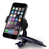 Amazon Deal: Car Mount, Liger® Universal Smartphone CD Slot Mount Holder / Cradle - Compatible with All Smartphones, including IPhone ... - Samsung Galaxy ... $6.95 ac / sss eligible @ amazon