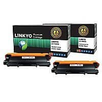 Amazon Deal: LINKYO Compatible Replacement for Brother TN450 TN420 High Yield Toner Cartridge (Black, 2-Pack) $18.36 ac /  sss eligible @ amazon