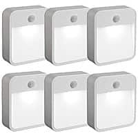 Amazon Deal: Mr Beams MB726 Battery Powered Motion Sensing LED Nightlight, White, 6-Pack $35.20 sss eligible @ amazon