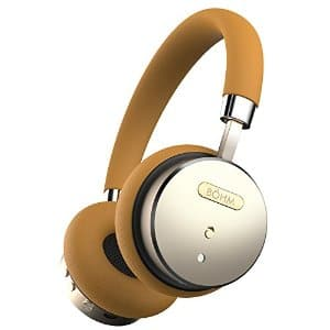 BÖHM Wireless Bluetooth Headphones with Active Noise Cancelling Headphones Technology ... 18-Hour (Max) Battery / Gold/Tan, B-66 $64.95 or Black $64.99 ac / fs @ amazon