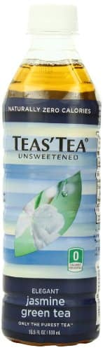 Teas' Tea, Unsweetened Jasmine Green Tea, 16.9 Ounce (Pack of 12) $6.74 fs w/S&S (@15%) @ amazon