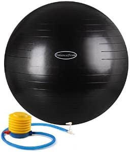 BalanceFrom Anti-Burst and Slip Resistant Fitness Ball with Pump from $11.01 ac / sss eligible @ amazon / Purple (55cm) $11.01 / Blue (65cm) $11.86 / Black (75cm) $12.71