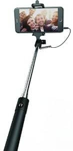 Sharper Image Selfie Stick for All Phones - Retail Packaging - Black $5.26 ac / sss eligible @ amazon