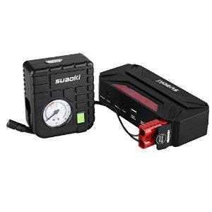 Suaoki 18000mAh 600A T3 Plus Jump Starter + Air Compressor Pump $59.99 ac / fs @ amazon