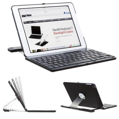 SHARKK Apple iPad Wireless Bluetooth Keyboard and Case / iPad Mini or iPad Air 2 $19.99 fs @ ds