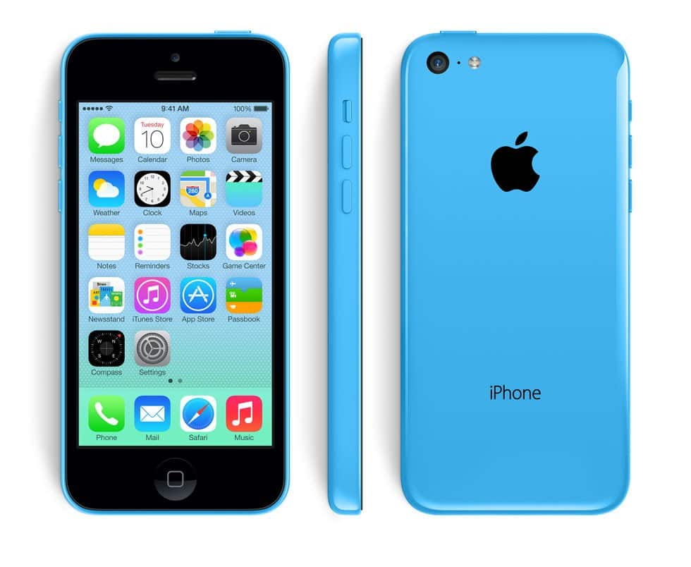 Apple iPhone 5c (32GB GSM Unlocked) Cellular Phone / refurb. $113.99 fs @ ds