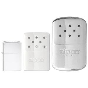 Zippo Hand Warmer / 12hr / sliver $6.43 or red $6.76 / 6hr white $6.18 add on item @ amazon