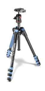 Manfrotto MKBFRA4L-BH BeFree Compact Aluminum Travel Tripod, Blue $99.99 fs @ amazon / LDs!
