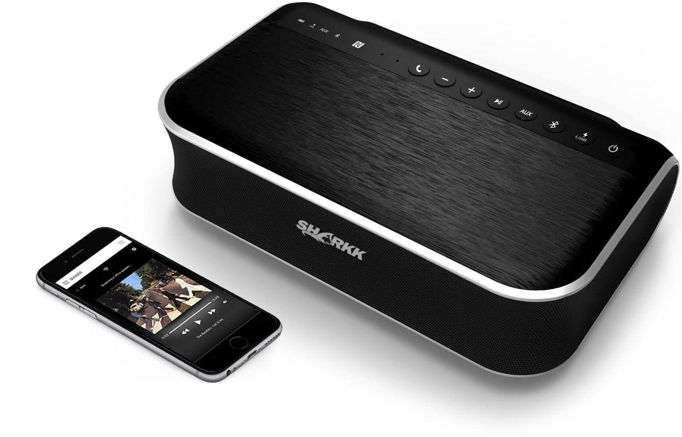 SHARKK BEAST 45W Bluetooth Speaker 2.1 Channel Speaker with Subwoofer Powerful Home Speaker for TV Patio Dorm Room 4400mAh Powerbank Speaker $139.99 fs @ amazon / LDs!