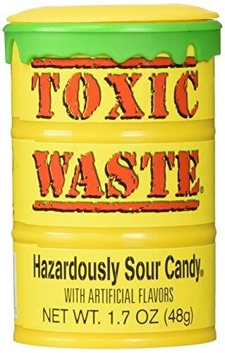 Toxic Waste Hazardously Sour Candy Barre, 1.7 Ounce $1.66 sss eligible @ amazon / OOS but orderable ! Usually ships in 1 to 3 months