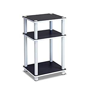 Furinno 11087 Just 3-Tier No Tools Dual Color Reversible End Table, White/Espresso $10.47 sss eligible @ amazon / OOS but orderable !