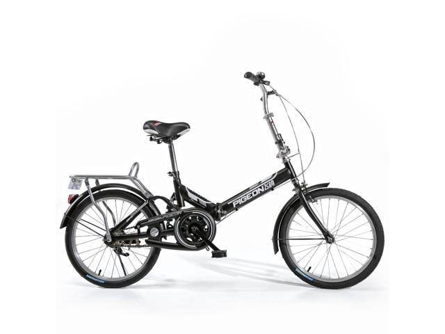 "FLYING-PIGEON Folding bike Suspension system 20"" Wheel High carbon steel frame Specialized saddle bottom for Express setup Safe and Comfortable - Black $120.00 + more / fs @ nf"