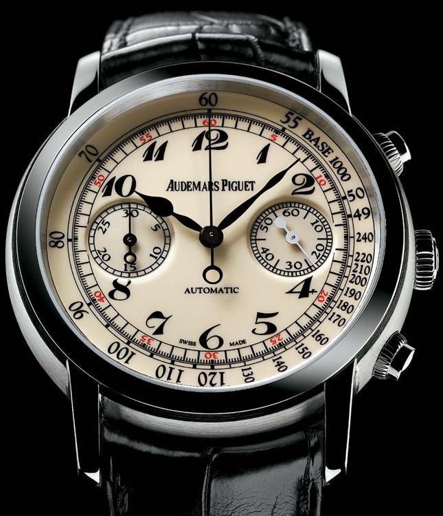 Audemars Piguet Jules Audemars Automatic Chronograph Mens Watch $17,500 ac / fs @ pt