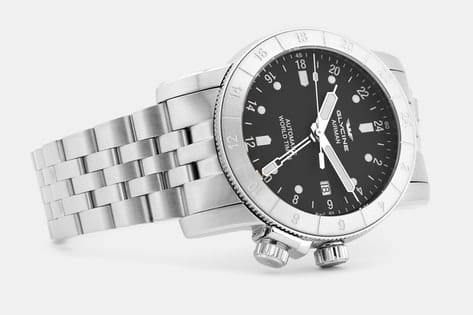 Glycine Airman DC-4 GMT Automatic Watch $600 fs @ md