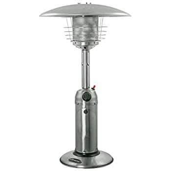 AZ Patio Heaters HLDS032-B Portable Table Top Stainless Steel Patio Heater, Stainless Finish ONLY! $44.36 fs @ amazon