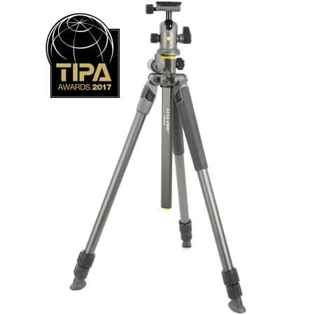"Vanguard Alta Pro 2+ 263AB100 3 Section Aluminum Tripod with Alta BH-100 Ball Head, 15 lbs Capacity, 68"" Maximum Height, Gray $169.99 fs @ adorama"