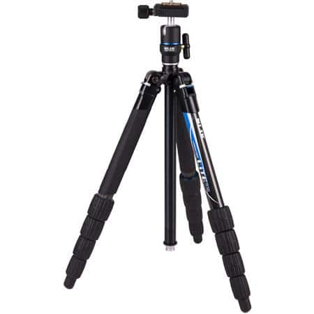 "Slik Lite CF-522 Carbon Fiber Tripod with Removable LED Flashlight, Extends to 4.8', Holds 6.6 Lbs, Folds to 14.6"" $149.95 fs @ adorama"