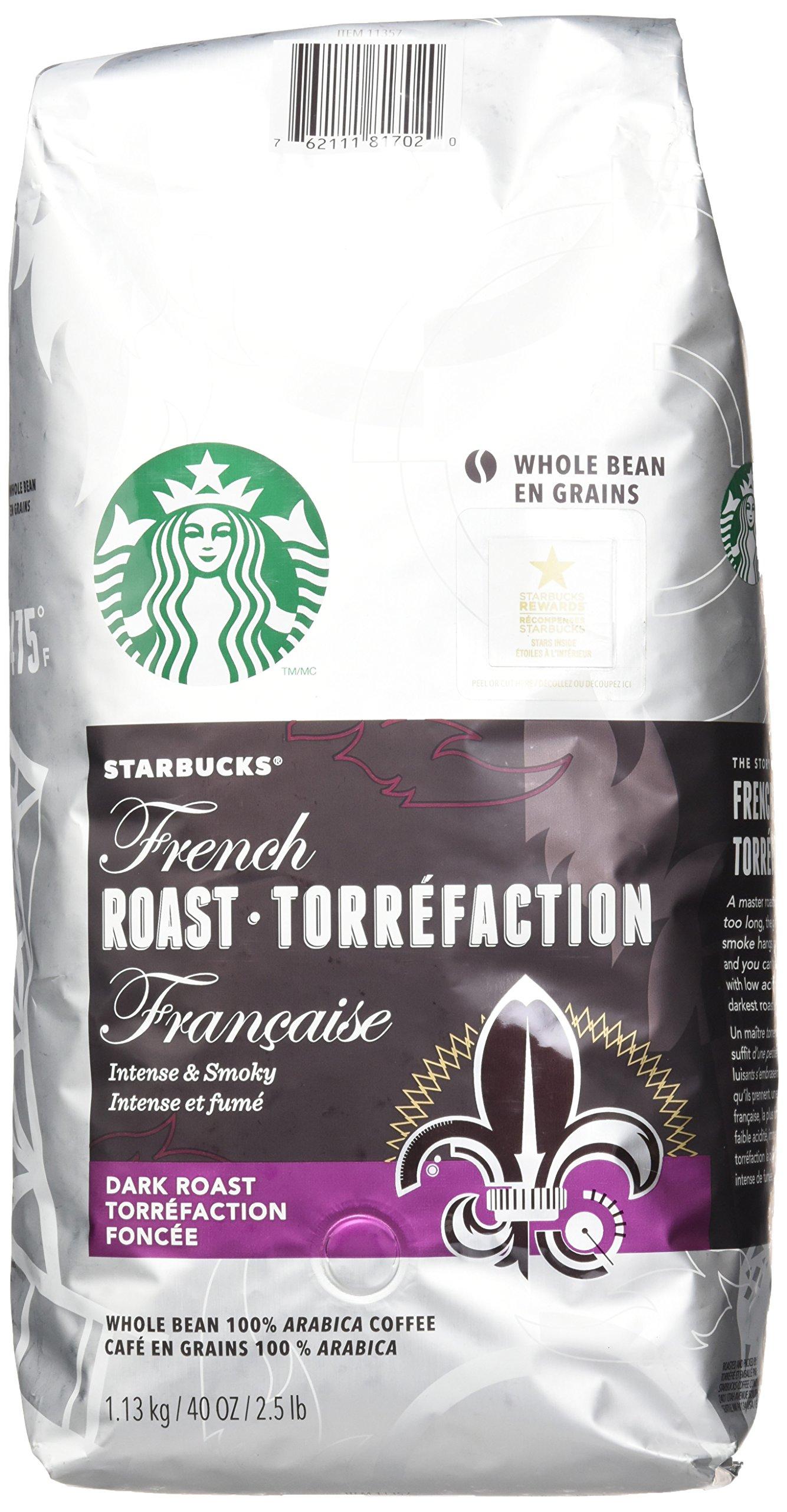 Starbucks Breakfast Blend Medium Roast Whole Bean Coffee, 12-Ounce Bag (Pack of 6) $39.84 (or less) fs w/S&S @5% @ amazon