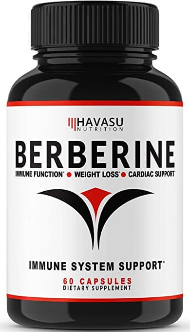 Premium Berberine Supplement 500MG With Added Absorption Agent For Max Immune System, Digestion ... 60 Capsules $9.95 ac / sss eligible @ amazon
