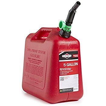 Briggs & Stratton 85053 5-Gallon Gas Can Auto Shut-Off $11.54 sss eligible @ amazon or wm
