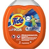 Tide PODS 3 in 1 HE Turbo Laundry Detergent Pacs, Spring Meadow Scent, 81 Count Tub or Tide PODS 3 in 1 HE Turbo Laundry Detergent Pacs...  $11.31 ac / fs w/S&S @15% @ amazon
