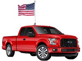 CarTop Expressions 77750 Beast Car Flag Roof Mountable Flagpole System with Rip-Resistant American Flag $59.99 @ woot