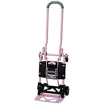 Cosco Shifter 300-Pound Capacity Multi-Position Folding Hand Truck and Cart, Pink $42.06 / green $45.66 fs @ amazon